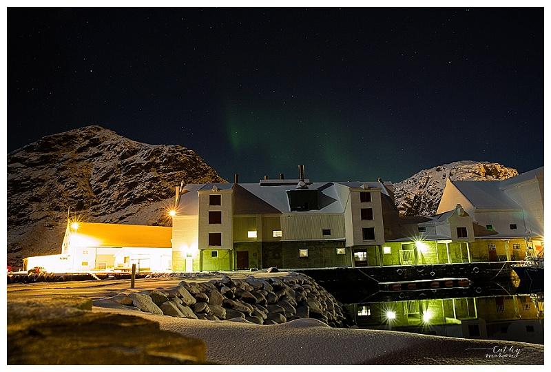 La plus grosse aurore boréale que nous ayons vu, autant dire, minus ;)